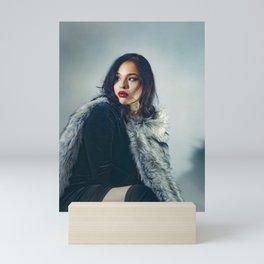 """Victoria"" color portrait Mini Art Print"