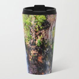Florence Falls - view from above-NT, Australia Travel Mug