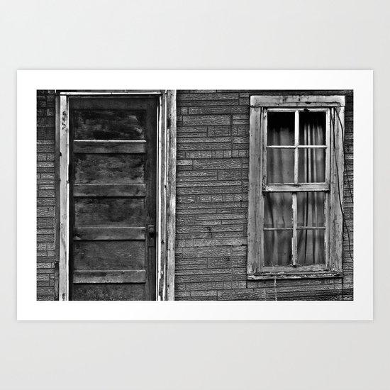 The Grand Door And Window Art Print