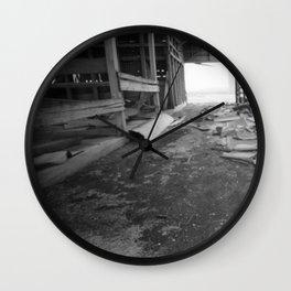Rural Rot Wall Clock