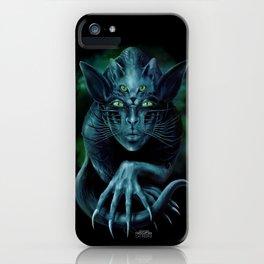 Cat People iPhone Case