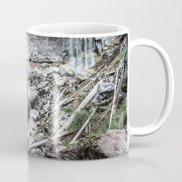Rock Land Waterfall // Natural Beauty Wilderness Photography Decoration Coffee Mug