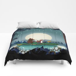 Bear and Fox Comforters
