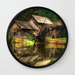 Mabry Mill Wall Clock
