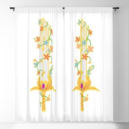 she ra and The Princess of Power Blackout Curtain