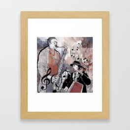Jazz Men Framed Art Print