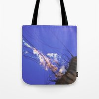jelly fish Tote Bags featuring Jelly Fish  by N A N A M I