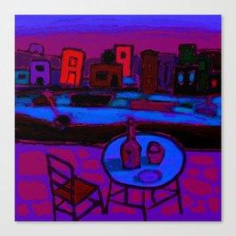 Kastellorizo Night Canvas Print