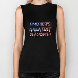 America's Greatest Blacksmith Biker Tank