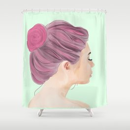 Rest Your Eyes Shower Curtain
