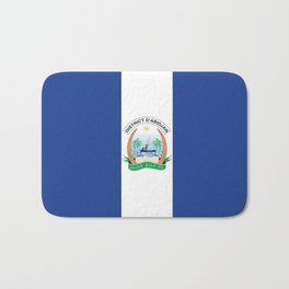 Flag of Abidjan Bath Mat