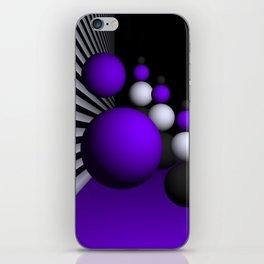 go violet -14- iPhone Skin