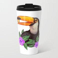 Jungle Toucan Metal Travel Mug