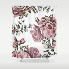 Summer Roses II Shower Curtain