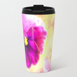 Dreaming of Pansies Travel Mug