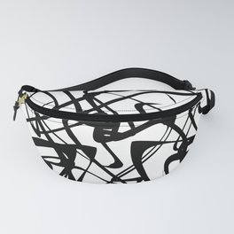 smooth black loops Fanny Pack