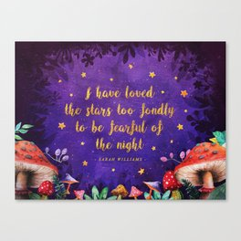 I have loved the stars Canvas Print
