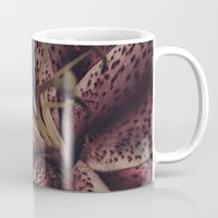 lily Mugs featuring lily by inourgardentoo