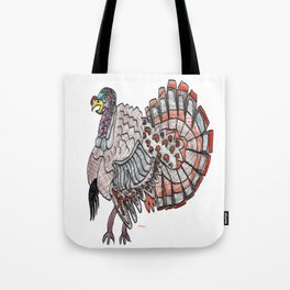 Tom Turkey Tote Bag