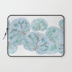 Sea Grape Tropical Leaves Laptop Sleeve
