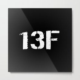 13F Fire Support Specialist Metal Print