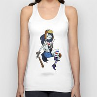 tank girl Tank Tops featuring Marceline Tank Girl by Rewfoe