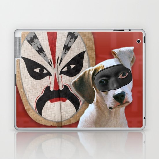 Kabooki Pooch in training Laptop & iPad Skin