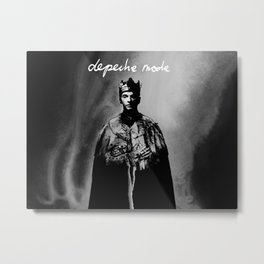DM : Dave Gahan  The King From Enjoy The Silence Metal Print