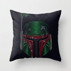 Star . Wars - Boba Fett Throw Pillow