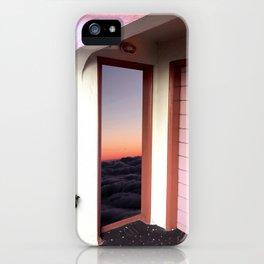 Sunset Doorway iPhone Case