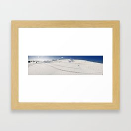 Wedge Dunes Framed Art Print