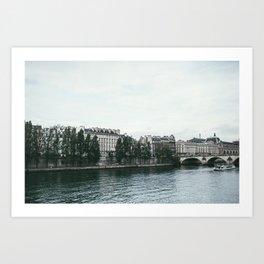 Paris Waters Art Print