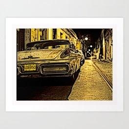 Havanna at night... Art Print
