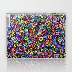 Circles and Squares Laptop & iPad Skin