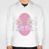 mermaids Hoodies featuring Mermaids by Polvo