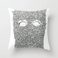 KEEP OFF THE LARVE Throw Pillow