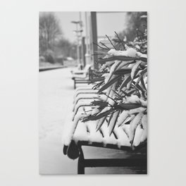 Empty Station Canvas Print