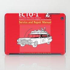 ECTO-1 Service and Repair Manual iPad Case