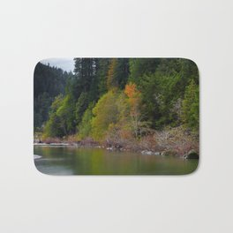 Autumn On Grizzly Creek Bath Mat