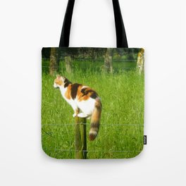 Watching for Prey Tote Bag