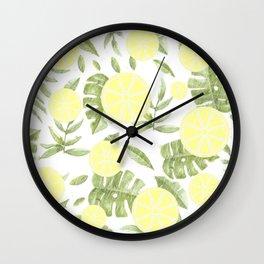 Lemon Drop Wall Clock