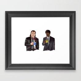 Pulp Fiction - Jimmy's Coffee Framed Art Print