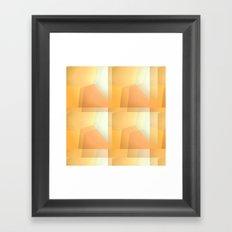 Sunshine Ripples Framed Art Print