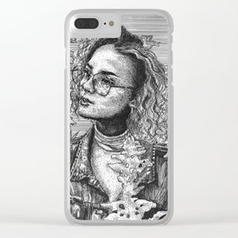 the craze Clear iPhone Case