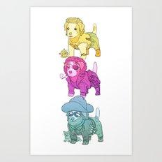 Kurt Russell Terrier Art Print