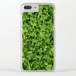 Trifolium Clear iPhone Case