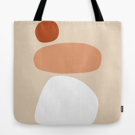 Abstract Shape Series - Stacking Stones Tote Bag