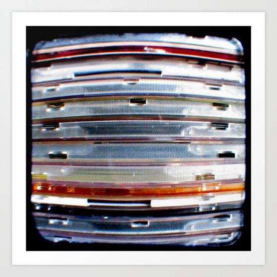 CD Stack - Through The Viewfinder (TTV) - ANALOG zine Art Print
