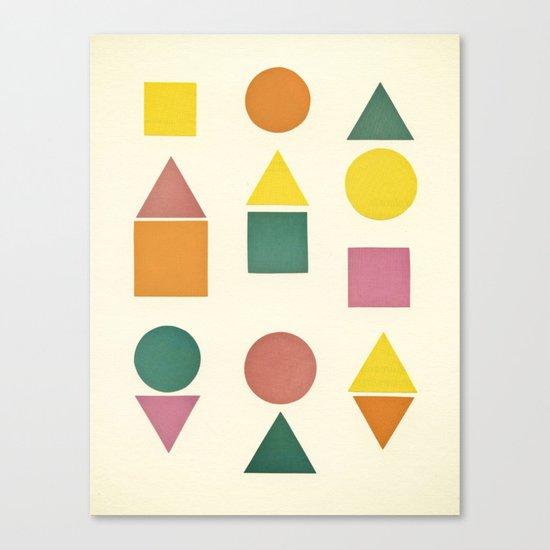 Shape Sorter Canvas Print
