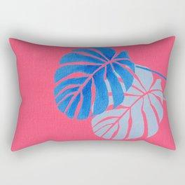Palm Leaf Shadow Rectangular Pillow
